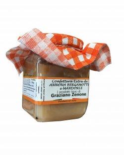 marmellata di Annone bergamotto e mandorle